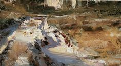 Journey of Light by Tibor Nagy Oil ~ 9,8 x 17,7