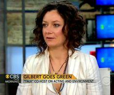 Sara Gilbert on CBS This Morning