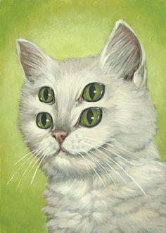 third eye kitten - Google Search