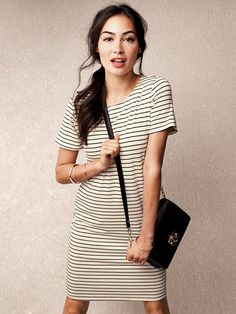 No wardrobe is complete without a too-cute t-shirt dress.