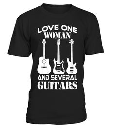 """# LOVE ONE WOMAN AND SEVERAL GUITARS .  Special Offer, not available anywhere else!      Available in a variety of styles and colors      Buy yours now before it is too late!      Secured payment via Visa / Mastercard / Amex / PayPal / iDeal      How to place an order            Choose the model from the drop-down menu      Click on """"Buy it now""""      Choose the size and the quantity      Add your delivery address and bank details      And that's it!  Other shirt GUITAR…"""
