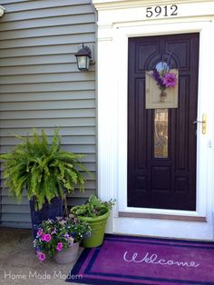 Portico Added To 1950 S Cape Cod Blackberry By Sherwin