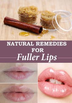 5 Natural Remedies for Fuller Lips Small lips do not get a space to surely ready for the lipstick to apply. It generally does not give ...