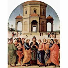 La boda de Maria .- Perugino