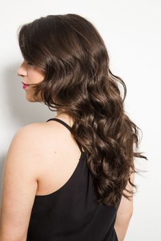 Get gorgeous, loose waves like a model with these easy tips! // How to Get Hair Like a Victoria's Secret Model