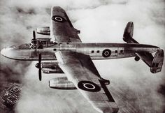 The Avro Lancaster was converted to a passenger airliner at the end of WW2, called the Lancastrian.  From 1946 to the early 1950s seven Lancastrians were converted, for jet turbine testing, to accomodate two gas turbines (Rolls-Royce Nenes or Avons, de Havilland Ghosts or Armstrong Siddeley Sapphires) alongside the 2 exisiting Merlin engines.  VH742 was fitted with Nenes, first flew on 14 August 1946 and became the first airliner to fly on jet power only from London-Paris, 23 November 1946.