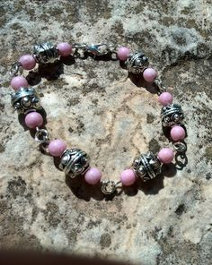 Czech bead bracelet by Jewelrymadebynature on Etsy, €15.46