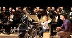 3 Years Old Russian Drummer Leads Orchestra Of Adult Musicians