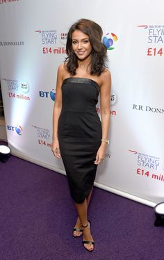 Michelle Keegan Photos Photos - Michelle Keegan attends the British Airways Flying Start event at BT Tower on November 10, 2016 in London, England. The event celebrates British Airways raising £14 million for Comic Relief through its Flying Start partnership. - British Airways Flying Start