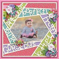 Afbeeldingsresultaat voor little miss diva scrapbook page