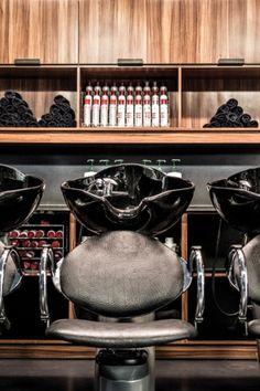 Salon spaces to die for on pinterest salon interior - Salon design montreal ...