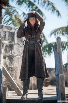 """mermaids-pirates: """"Anne Bonny """" A truly amazin' pirate. Never want t' be on the wrong end of a sword with her!!"""