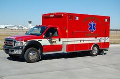 Cincinnati - Northern Kentucky International Airport 965  2006 Ford/Braun Ambulance  #4325