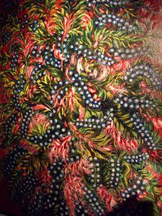 """painter Seraphine Louis, """"Seraphine of Senlis"""" con todo el tipico colorido naif"""