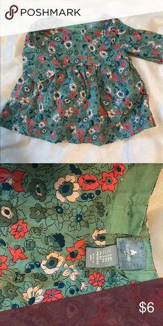 Baby Gap flowery top. Baby Gap flower print top. GAP Shirts & Tops Blouses