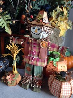 Theresa G's gorgeous scarecrow #svgcuts