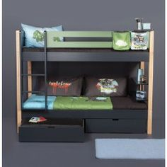 1000 images about furniture on pinterest kids bunk beds white bows and mo - Lit superpose toboggan ...