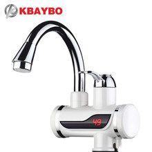 KIODS Grifo Calentador de Agua el/éctrico Grifo Calentador instant/áneo de Agua Caliente instant/ánea Calentamiento en fr/ío///3000W