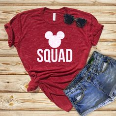 Disney Shirts, Gruppen Shirts, Disney passende Shirts, Disneyland Shirts, Disney V . Disney Vacation Shirts, Disney Shirts For Family, Disney Trips, Disney Vacations, Toddler Disneyland, Disneyland Shirts For Family, Disney T Shirts, Minnie Mouse Shirts, Disneyland Vacation