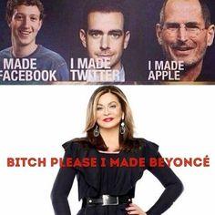 Beyonce's mom meme