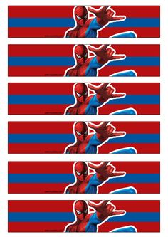 Imprimibles Spiderman Spider Man Party, Superhero Birthday Party, 4th Birthday Parties, Boy Birthday, Avenger Party, Free Spider, Spiderman Theme, Festa Party, Party Printables