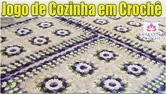 Vamos fazer um Jogo de Cozinha em crochê? Aula completa aqui  http://ift.tt/2dhmYAr #crochet #professorasimone #semprecirculo