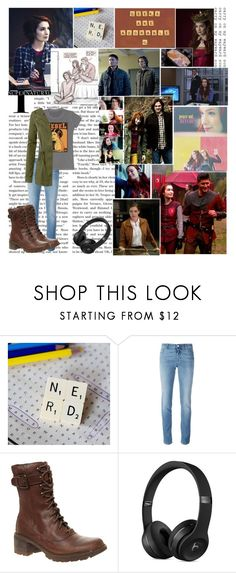 """Charlie Bradbury - Supernatural"" by demolition-vampire ❤ liked on Polyvore featuring jared, Givenchy, Rockport and LE3NO"