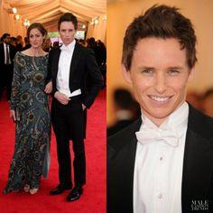 Male Fashion Trends: Eddie Redmayne en Burberry Prorsum - Costume Institute Gala…