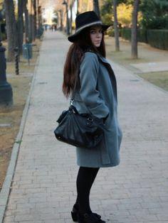 estefania579458 Outfit  vestido:mango cuñas:blanco sombrero:parfois bolso:zara  Invierno 2012. Cómo vestirse y combinar según estefania579458 el 10-1-2013