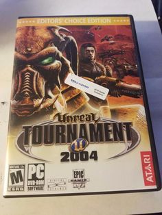 Unreal Tournament 2004: Editor's Choice Edition - PC DVD Computer game Complete
