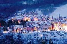 The Fairmont Tremblant hotel in Mount Tremblant Canada   http://www.res99.com/hotel/10006005-10231105P.html hotels one of the top best