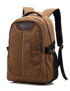 กระเป๋าเป้ Multifunction ใส่โน๊ตบุ๊คได้ รุ่น A15MC1066BN - สีน้ำตาล