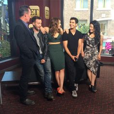 most of #TeamScorpion at #SDCC with ET #SDCC2015