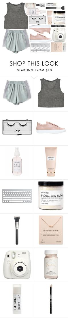 """ALBG975"" by rheeee ❤ liked on Polyvore featuring MANGO, Pop Beauty, Lanvin, Holly's House, Carven, Fig+Yarrow, MAC Cosmetics, Dogeared, Fujifilm and Flynn&King"