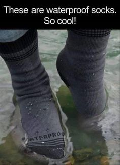 Great for those long walks in the lake...