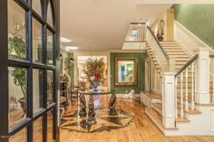Traditional Staircase with Hardwood floors & High ceiling in Phoenix, AZ   Zillow Digs