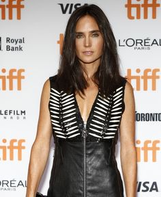 "Jennifer Connelly in a Louis Vuitton dress at the Toronto International Film Festival Premiere of ""American Pastoral"" on September 9, 2016 at the Princess of Wales Theatre"