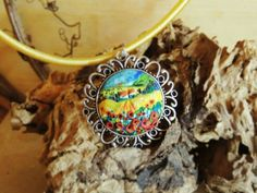 Polymer Clay Painting, Polymer Clay Pendant, Clay Projects, Projects To Try, Workshop, Pendants, Bracelets, Inspiration, Jewelry