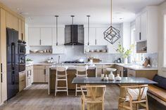 De Mattei Construction along with Lauren Nelson Design created this classic Craftsman house built for modern living in Los Gatos, California. Kitchen Flooring, Kitchen Cabinets, Shaker Cabinets, Kitchen Counters, Upper Cabinets, Kitchen Islands, Wood Cabinets, Kitchen Appliances, Kitchen Cabinet Inspiration