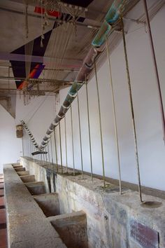 The wash house in Ulassai is became an artwork thanks to intervention of Maria Lai and three other artists: Costantino Nivola, Guido Strazza and Luigi Veronesi #Ogliastra #Sardinia #art