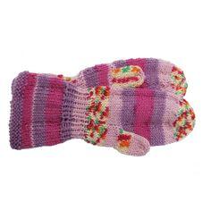 Votter i mellanraggi melert garn Knitted Hats, Gloves, Socks, Knitting, Tricot, Breien, Sock, Stricken, Weaving