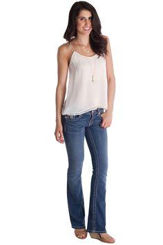 Tribal Love Bootcut Jeans