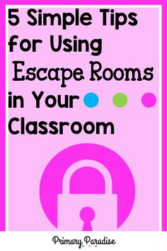 Escape rooms are engaging and fun, but can you incorporate them in your primary classroom? The answer is yes! Your primary students will love completing break out room activities in school, and you'll love how easy they are to implement. They're easier than you think! Here are 5 simple ways to make escape rooms work in your classroom! Primary Classroom, Elementary Teacher, Upper Elementary, Classroom Activities, Subtraction Kindergarten, Subtraction Activities, Measurement Activities, Teacher Organization, Teacher Hacks