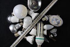Recycling von Leuchtdioden | Es ist nur eine Frage der Zeit, bis größere Mengen ausgebrauchter LED-Leuchten anfallen, die wertvolle Rohstoffe enthalten. An zwei Fraunhofer-Instituten arbeitet man schon jetzt an Recycling-Methoden.