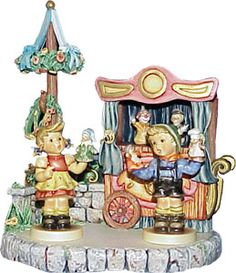 Hummel Puppet Theater Collector Set Hummel Figurine Sold Out