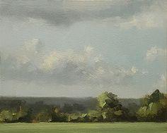 Buckinghamshire View by Neil Carroll Oil ~ 8 x 10