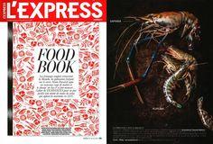 Saphira prawn / crevette Saphira (Foodbook 2015 l'Express)