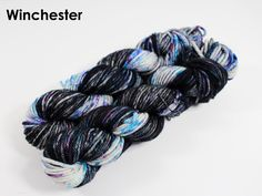 The highest quality hand-dyed, just for you. Hand Dyed Yarn, Winchester, Neutral, Fiber, Vibrant, Knitting, Hair Styles, Beauty, Black