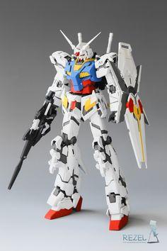 MG Unicorn Gundam Colors] - Painted Build Modeled by poptigus Macross Anime, Mecha Anime, Gundam Toys, Gundam Art, Futuristic Robot, Gundam Astray, Gundam Exia, Gundam Wallpapers, Genesis Evangelion