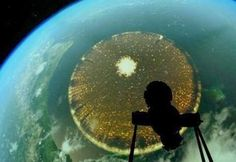 UFO: Brazil Planetarium Shows Giant Alien Disc over Earth - LeCanadian